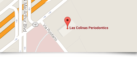 Las Colinas pin map